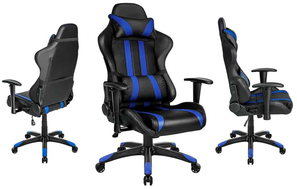 TecTake Chaise Fauteuil Gamer