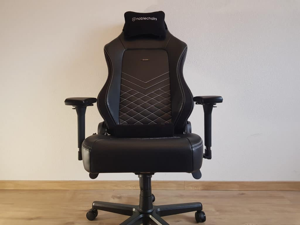 Noblechairs Hero de face